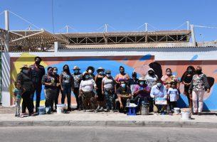 Historias y tradiciones de Baquedano se toman los espacios públicos