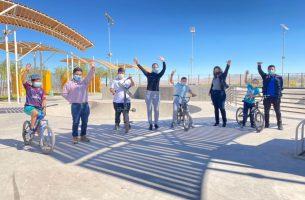 Municipio abre Skatepark de Baquedano de manera definitiva
